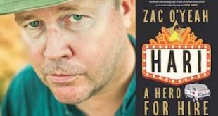 Zac O'Yeah Interview - Hari - A Hero for Hire Book