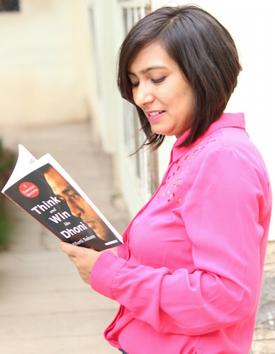 Sfurti Sahare Interview - Think and Win like Dhoni Book