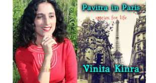 Vinita Kinra Interview - Pavitra in Paris Book