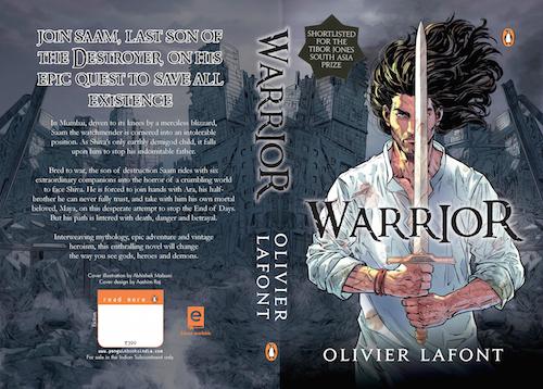Olivier Lafont Interview - Warrior Book