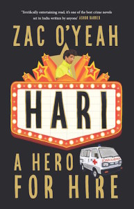 Zac O'Yeah Interview - Hari - A Hero for Hire Book