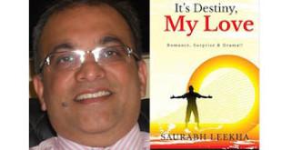 Saurabh Leekha Interview - It's Destiny, My Love Book