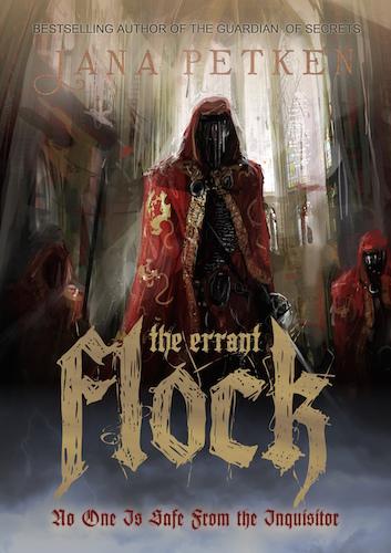 Jana Petken Interview - The Errant Flock Book