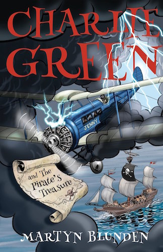 Martyn Blunden Interview - Charlie Green and The Pirate's Treasure Book