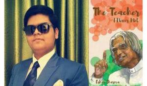 Eshan Sharma Interview - The Teacher I Never Met Book