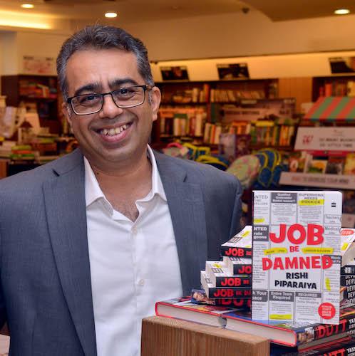 Rishi Piparaiya Interview - Job Be Damned Book